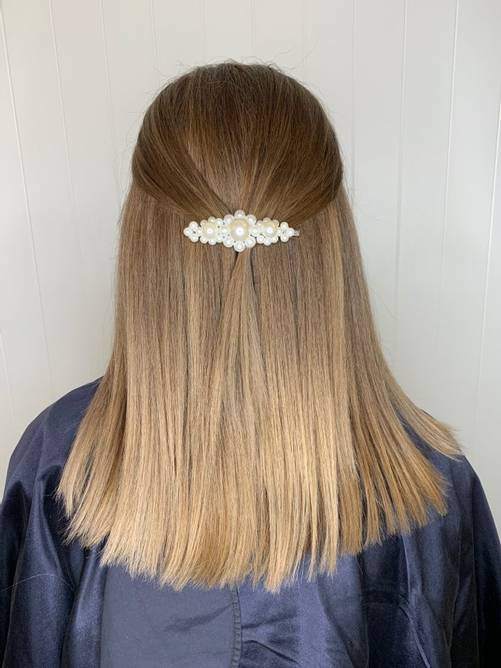 Bilde av ZG Miss Pearly Hairpin Silver